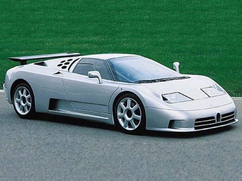 Bugatti EB110 SuperSport фото