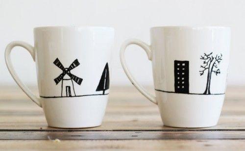 Чашка с собственным рисунком
