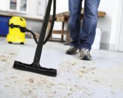 Как быстро убрать офис после ремонта?