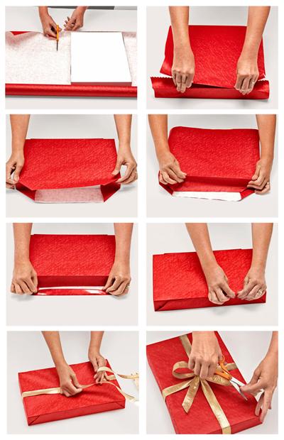 Самый простой способ упаковки подарка