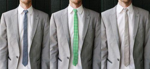 Обновление старого галстука