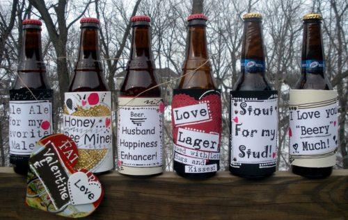 Особенные алкогольные бутылки