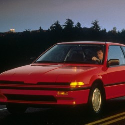 Acura Integra Coupe 1986 года