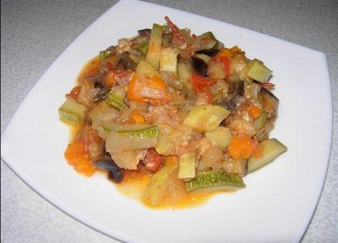 овощное рагу правильное питание