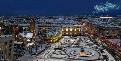 Центральная площадь Минска