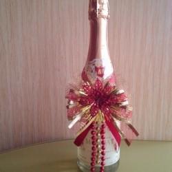 5 классных идей украшения бутылки шампанского на 14 февраля