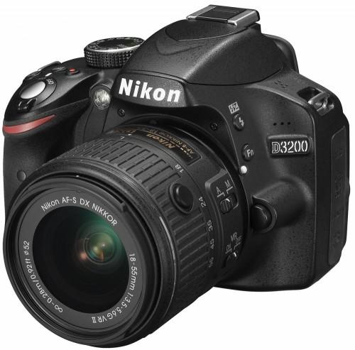 Nikon D3200 kit 18-55VRII Black