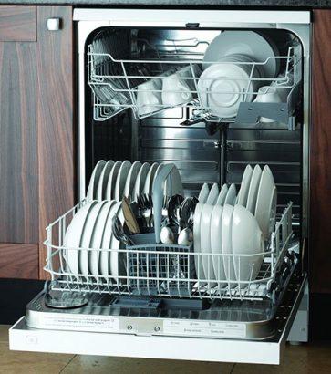 посуда в посудомоечной машинке