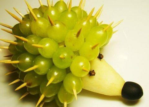 поделки из фруктов картинки