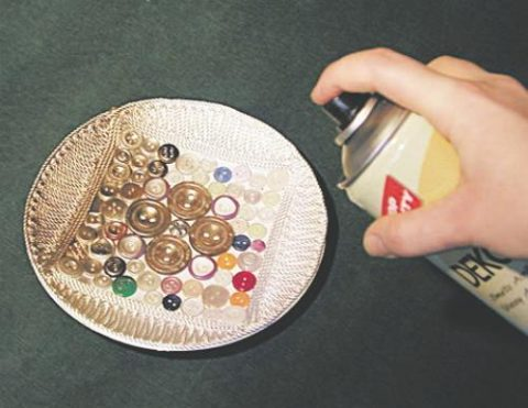 Праздничная тарелочка