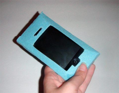 Изготовление чехла для сенсорного мобильного
