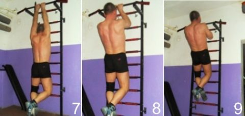 pull-up wide grip