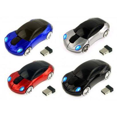Беспроводная мышь в виде автомобиля