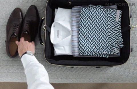 как сложить чемодан правильно фото