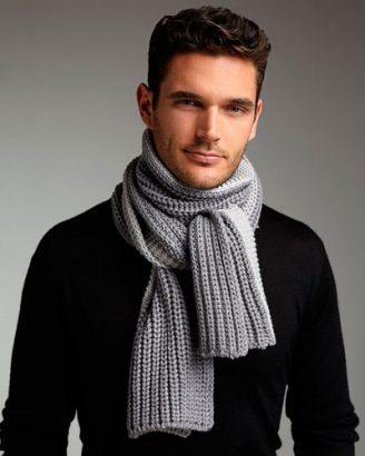 как выбрать мужской шарф