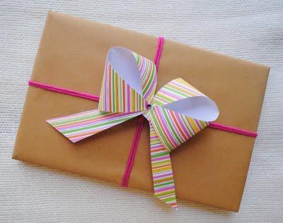 обычный подарок