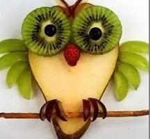 10 оригинальных поделок из овощей и фруктов