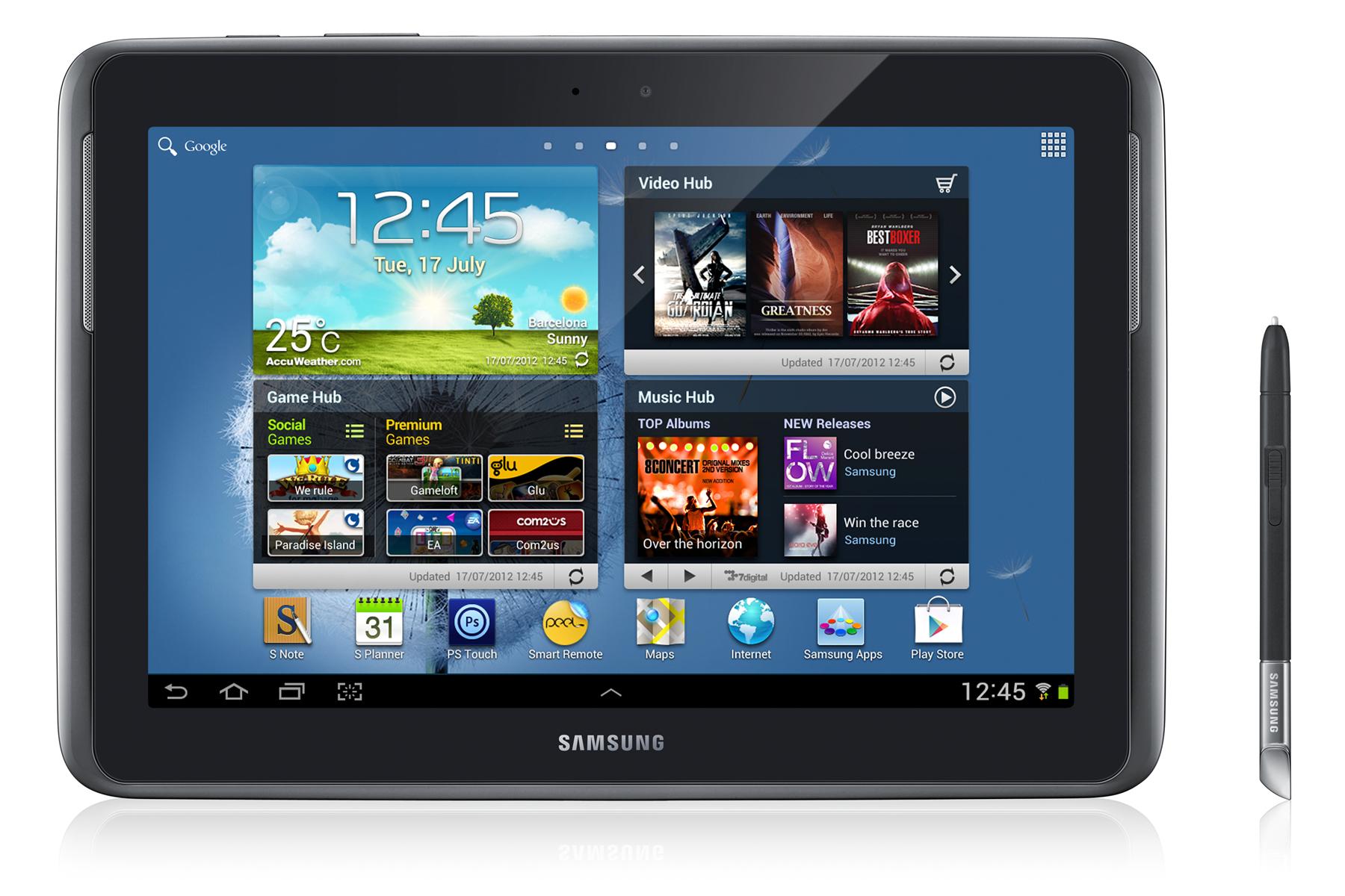 Samsung Galaxy Note 10.1 N8000 - Технические характеристики