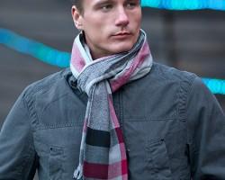 Выбираем мужской шарф