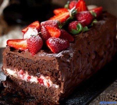 клубничный десерт