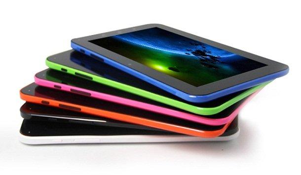 планшеты разных цветов