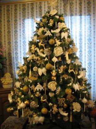 Как украсить елку на Новый год 2018 (45 фото)