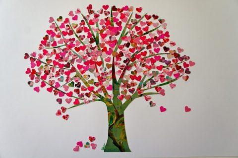 Картина «Дерево любви»