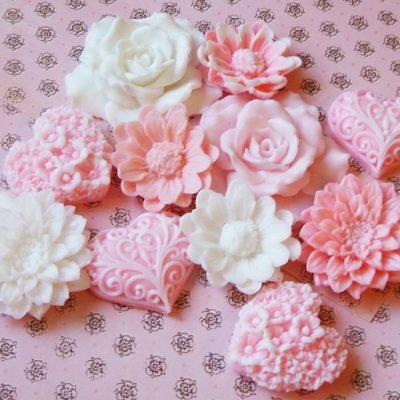 цветочное мыло
